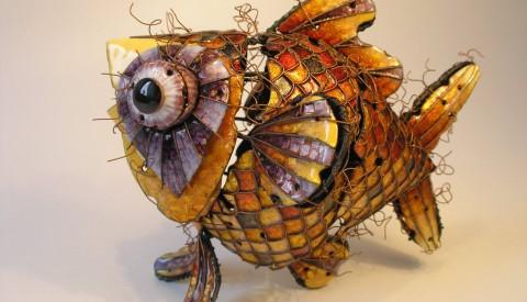 Kunstwerk insect van de Spanjaard Rafael Arroyo Villemur